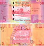 Samoa 5 Tala 2012 UNC - Samoa
