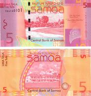 Samoa 5 Tala 2017 UNC - Samoa