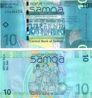 Samoa 10 Tala 2008 UNC - Samoa