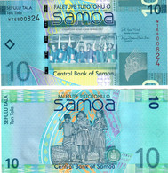Samoa 10 Tala 2017 UNC - Samoa