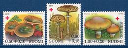 "Finnland 1978 , ""  Rotes Kreuz / Croix Rouge (Champignons) "" ;  Mi.830 - 832  Postfrisch / MNH / Neuf - Zonder Classificatie"