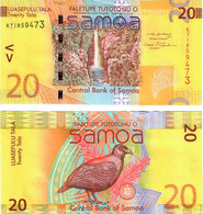 Samoa 20 Tala 2008 UNC - Samoa