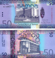 Samoa 50 Tala 2017 UNC - Samoa