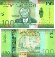 Samoa 100 Tala 2012 UNC - Samoa