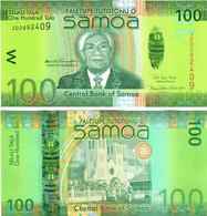 Samoa 100 Tala 2017 UNC - Samoa