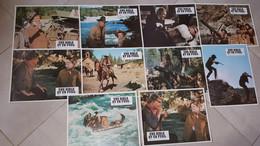 """""""Une Bible Et Un Fusil"""" J. Wayne, K. Hepburn Pochette Complète 10 Photos 23x30 NEUVES - Fotos"""