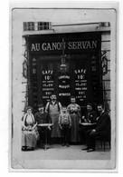 Cafè AU CANON SERVAN Maison Noyer - Carte Photo - Cafés