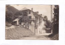 Carte Photo  14 X 9  -  écrite De Chamonix Avec Tampon Du Fayet  ( Hotel FLEUR DES  ALPES à ST-GERVAIS ) - Saint-Gervais-les-Bains