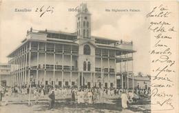 CPA Afrique > Tanzanie ZANZIBAR - His Highness's Palace 1906 - Tanzanie
