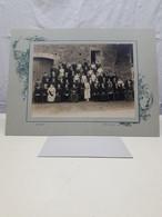 PHOTO Cote D'or  (22X17 Cm) THOREY SOUS CHARNY Rue Avau Mariage RARE - Identifizierten Personen