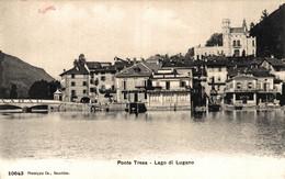 N°79822 -cpa Ponte Tresa -lago Di Lugano- - Other Cities