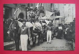 34 Pézenas 1911 Fête De Charité Char De Gargantua Gros Plan éditeur Pendariès  N°117 Dos Scanné - Pezenas