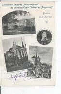 GENEVE   Troisieme Congres International Du Christianisme 1905 - Sonstige
