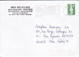 MEZE, Hérault,  1993, Pôle Scientifique Du Bassin De Thau ( Tal2103-16/008) - 1961-....