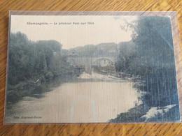 39  CHAMPAGNOLE Le Premier Pont Sur L'Ain - Champagnole
