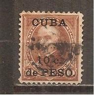Cuba - Yvert  141 (usado) (o) (defectuoso) - Used Stamps