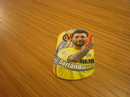 Bruno Soriano Villarreal Spanish Football Soccer Europa Stars 2018 Greek Metal Tag - Other
