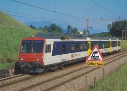 Automotrice RBDe 4/4 2121 SBB CFF à Rothenburg (Suisse) - - Eisenbahnen
