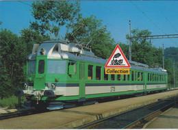 Automotrice BDe 4/6 102 Du STB, à Laupen (Suisse) - - Eisenbahnen