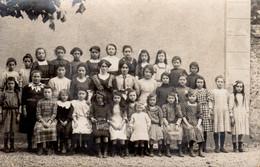 VIBRAYE  -  Ecole De Filles  -  1ère & 2éme Classes  -  1912  -  Excellent Document  -  Tous Les Enfants Nommés - Vibraye