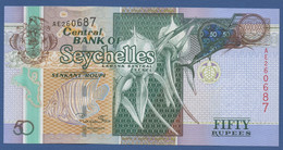SEYCHELLES - P.43 – 50 RUPEES2011 - UNC - Serie AE - Seychelles