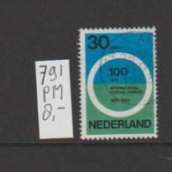 (W505.9) Plaatfout NVPH 791 PM   Gestempeld CW 8,- - Abarten Und Kuriositäten