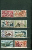 ENSEMBLE DE 9 LOTS FRANCE COLONIES - AEF Lot  PA 43 50 55 56 57 58 59 60.... - Used Stamps