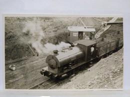 Locomotive. Loddington Ironstone Mines. 8.5x13.5 Cm - Treinen