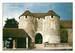 91 - Dourdan - Le Château - Flamme Postale - CPM - Voir Scans Recto-Verso - Dourdan