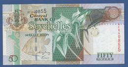 SEYCHELLES - P.39A – 50 RUPEESND (2005) - AUNC  -  Serie AC840855 - Seychelles