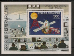 Centrafricaine - 1979 - Bloc Feuillet BF N°Yv. 38a - Apollo - Red Ovpt. - Neuf Luxe ** / MNH / Postfrisch - Central African Republic
