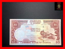 SAMOA 5 Tala 2002 P. 33 B  With Segmented Sec. Thread  And 2 Signatures  UNC - Samoa