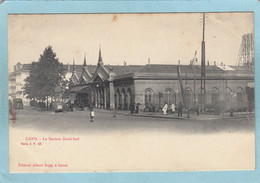 GAND  -  LA  STATION  GAND - SUD  -  CARTE  PRECURSEUR   - - Gent
