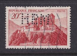Perforé/perfin/lochung France No 841A HPLM Cie De Navigation Le Havre Paris Lyon Marseille - Perfin