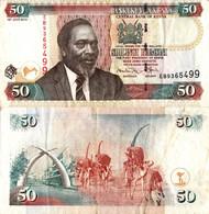 Kenya / 50 Shillings / 2010 / P-47(c) / VF - Kenya