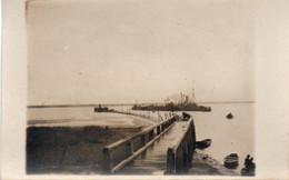 ZEEBRUGGE  5 Cartes Photos Du Renflouement De L'Iphigénie En Juin 1920 - Zeebrugge