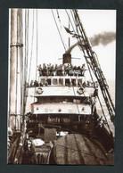 """Photo-carte Moderne """"Morutier Vivagel, Ex - Alfred Vieu De Granville, Réquisitionné Par Les Allemands En 1940"""" - Granville"""