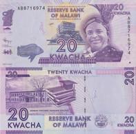 Malawi / 20 Kwacha / 2015 / P-63(a) / UNC - Malawi