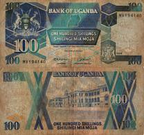 Uganda / 100 Shillings / 1988 / P-31(b) / FI - Uganda