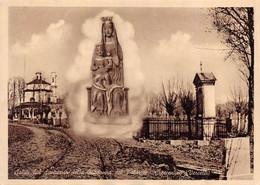 """09472 """"CRESCENTINO (VC) - SALUTI DAL SANTUARIO DELLA  MADONNA DEL PALAZZO"""" CART. ILL. ORIG., NON SPED. - Virgen Maria Y Las Madonnas"""