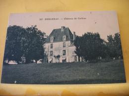 24 8165 CPA - 24 BERGERAC. CHATEAU DE CORBIAC. - Bergerac