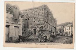 41 -TROO ( Environs De MONTOIRE ) - Ancienne Chapelle De Sainte Catherine - Loir Et Cher CIRCULEE /ANIMEE - Other Municipalities