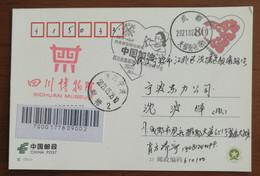 2019-nCOV,nurse Medical Operation,CN 20 Sichuan Fighting COVID-19 Pandemic Novel Coronavirus Pneumonia Propaganda PMK - Malattie