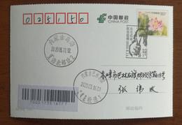 Medical Staff,CN 20 Wuhai Fighting COVID-19 Pandemic Novel Coronavirus Pneumonia Stamps Issue 1st Day Commemorative PMK - Malattie
