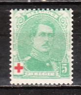 129**  Albert Ier Petit Médaillon - Bonne Valeur - MNH** - LOOK!!!! - 1914-1915 Red Cross