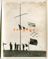 Photo Practicing Signals To The Passage Of A Ship Lighthouse Punta Delgada Chubut Patagonia Argentina 1914 - Boats
