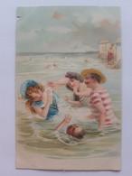 Carte Postale Illustrateur Baigneuses - 1900-1949