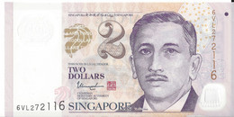 SINGAPOUR - 2 Dollars 2020 UNC Polymer - Singapore