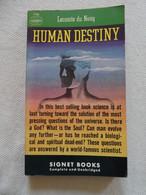 """""""Human Destiny"""" Lecomte Du Noüy - 1949 - 1900-1949"""