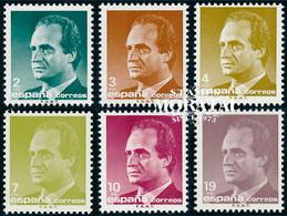 1986 España  Ed 2829/2834 Juan Carlos I Reyes **MNH Perfecto Estado, Nuevo Sin Charnela  (Edifil) - 1981-90 Unused Stamps